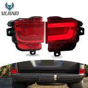 Red Led Taillight Turn Signal Reflector Lamp For 2016-2019 Toyota Land Cruiser