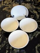 Denby Stoneware Ode England Coupe Cereal Soup Bowls X 4 Multiple Sets Available