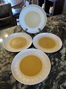 Denby Stoneware Ode England Dinner Plates X 4 Multiple Sets Available