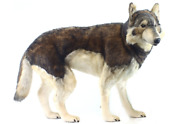 Hansa Timber Wolf Large Stuffed Animal Plush 39 In Collectors Room Toy Timerwolf