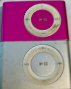 Apple Ipod Shuffle 2nd Generation Gray 1 Gb No Charger Has Not Been Reset.