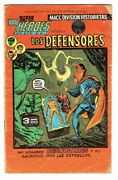 The Defenders 1 Mexican Super Heroes 3 Defensores Macc 1976 Mexico In Spanish