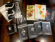 Lot Of 3 - P90x + P90x+ + P90x Extreme Fitness Dvds Workout Set +nutrition Book