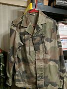 Authentic French Army Jacket F2 Jacket Cce Camo Armee Francaise Military Size M