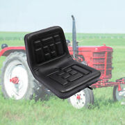 Tractor Seat Universal Lawn Mower Tractor Seat Back 150mm Slide W/a Drain Hole