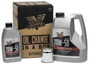 Twin Power 20w50 Synthetic Quick Change Oil Kit Harley-davidson Road Glide 17-18