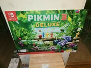 Pikmin 3 Deluxe Nintendo Switch Promotional Advertising Display Poster 36×26