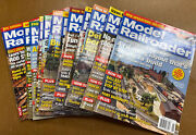 2007 Model Railroader Magazine 12 Issues Complete Year