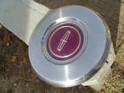 One Vintage 82 87 Lincoln Town Car Continental Mark Hubcap Center Cap Bill Blass