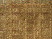 Hand-made All Over Garden 14and0390 X 21and0392 Hand-knotted Jaipur Hand-knotted Area...