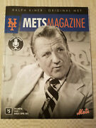 Ralph Kiner Ny Mets Magazine Vol. 53 Issue 1 March April 2014