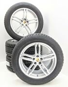 Porsche Macan 19 Turbo Alloy Wheels And New Dunlop Winter Tyres 2014 To 2018