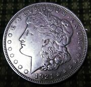 1921 D Morgan Silver Dollar Worth Getting Graded 100 Years Old Broken Nose Hoe