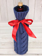 Wool And Clay Happy Day Sleeve Bottle Case Gin Handmade From Ru