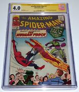 Amazing Spider-man 17 Cgc Ss Signature Autograph Stan Lee 2nd Green Goblin 💎