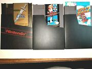 Zelda 2 And Super Mario Bros 1 And 2 Lot Of 3