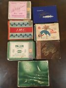 Lot Of 6 Different Cigarette Packages Estonia Tobacco Excise Stamps + Russia