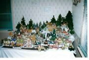 Dept 56 Dickens Village Collectors Estate Sale 53 Houseand039s And 40+ Accessory Itemand039s