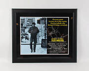 Robert Deniro Signed Poster Taxi Driver W/ Jodie Foster And Martin Scorsese - C...
