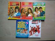 Disney High School Musical Stories From East High And More, Lot Of 5 Books