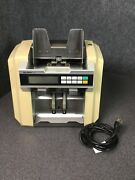 Glory Gfr-100 Mixed Us Currency Counter/discriminator For Parts Only M71c