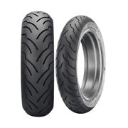 American Elite Mh90-21 Front 130/90b16 Rear Tire Set Harley Low Rider 1987-1992