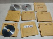 Lot Of 9 4andrdquo 316 Ss Universal Orifice Plates For Daniels Bores Listed Below