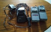 Lot Of 2 Vintage Motorola Flip Phones Cellone Comcast Chargers Working
