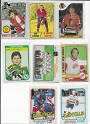 Wow Vintage Hockey Cards - Take A Look - Darryl Sutter - 8 Card Lot