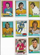 Wow Vintage Hockey Cards - Take A Look - Scouts - 8 Card Lot