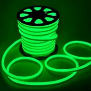 150ft 110v Green Led Flex Neon Rope Lights For Valentine Party Xmas Signs Decor