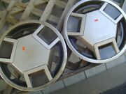 Two Vintage 1983 1984 1985 1986 Datsun Nissan Pickup Truck Hubcaps Wheel Covers