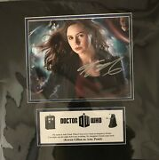 Doctor Who Karen Gillan Signed Matted And Coa