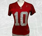 Any Team Player Jersey Crystallized Crystals Bling Nfl Nhl Nba Mlb