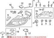 Genuine Oem Front Right Headlight Assembly For Audi 4l0941030al