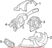 Genuine Oem Turn Signal / Combination Lever For Audi 4h0953502p
