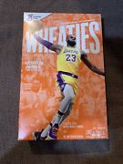 Lebron James Wheaties Box Los Angeles Lakers 15.6 Oz Full Cereal Box Lot Of 3