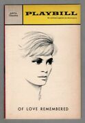 Ingrid Thulin Of Love Remembered Michel Legrand 1967 Broadway Flop Playbill