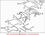 Genuine Oem Convertible Top Tonneau Cover For Audi 8v7871035e2y5