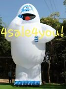 30and039 Foot Inflatable Bumble The Abominable Snowman Rudolph Christmas Custom Made