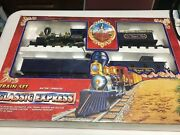 1994 Toy State Train Set Classic Express Battery Operated The Royal Blue