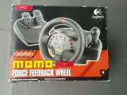 Logitech Momo Racing Steering Wheel With Pedals Pc Vintage Gamers Tested Nascar