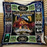 Trust Me I Am A Witch - Gift For Girls - Fleece Quilt Blanket Usa