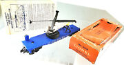 Lionel 3419 C7 Helicopter Launching Car Mint Wheels 2 Blades Instructns Ob 1959