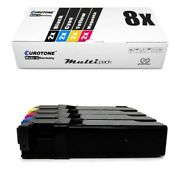 8x Eco Cartridge For Dell 1320-cn 1320-c