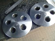 Two 1984 1987 Lincoln Mark Continental Hubcaps Wheel Covers Center Caps Vintage