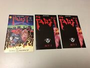 Lot Of Three Faust 1 And 2 2 All Three 1st Prints Signed By Tim Vigil