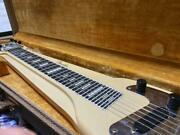 Vintage Fender 1960 Natural 6 Strings Champ Lap Steel Electric Guitar