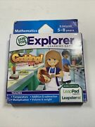 Leapfrog Leapster Explorer Game Cooking Recipes On The Road Leappad