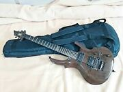 Esp Reindeer Rare Brown 1989-1999 Electric Guitar S/n 13049378 With Soft Case